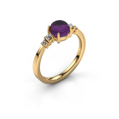 Ring Regine 585 gold amethyst 6 mm