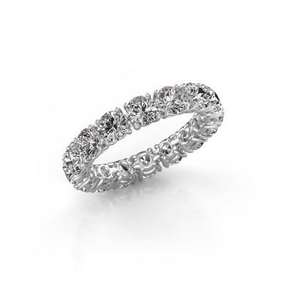 Picture of Stackable ring Vivienne 4.0 585 white gold diamond 4.00 crt