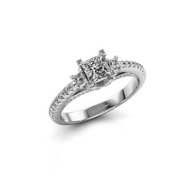 Picture of Engagement ring Valentina 585 white gold diamond 0.88 crt