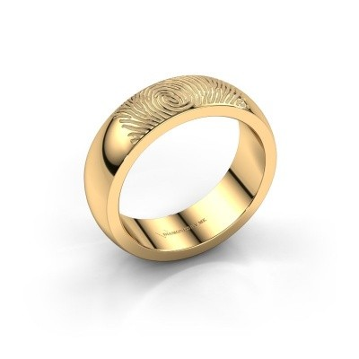 Picture of Wedding ring Alma 375 gold ±6x2 mm