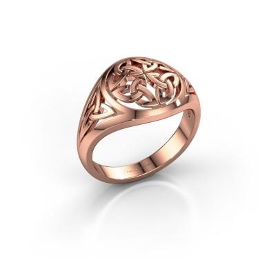 Men's ring Damian 375 rose gold