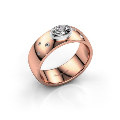 Ring Wilma 2 585 Roségold Diamant 0.50 crt