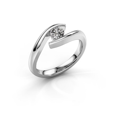 Picture of Engagement ring Alaina 925 silver diamond 0.30 crt