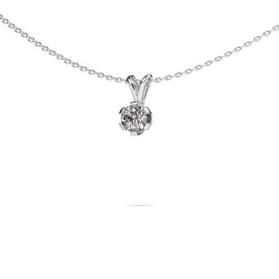 Foto van Ketting Julia 950 platina diamant 0.25 crt