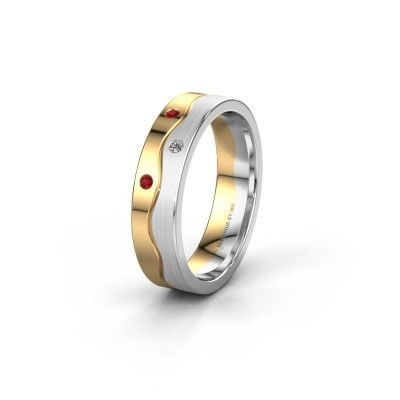 Ehering WH0701L15APM 585 Gold Rubin ±5x1.7 mm