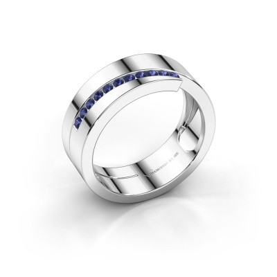 Picture of Ring Loma 925 silver sapphire 1.5 mm