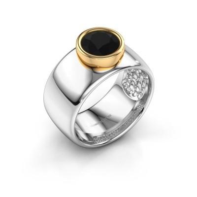 Ring Klarinda 585 white gold black diamond 1.56 crt
