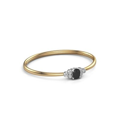 Picture of Bangle Lucy 585 gold black diamond 1.62 crt
