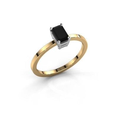 Verlobungsring Denita 1 585 Gold Schwarz Diamant 0.84 crt