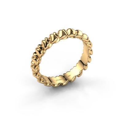 Aanschuifring Nikki 585 goud