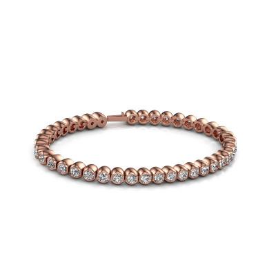 Foto van Tennisarmband Bianca 3.5 mm 375 rosé goud lab-grown diamant 7.200 crt