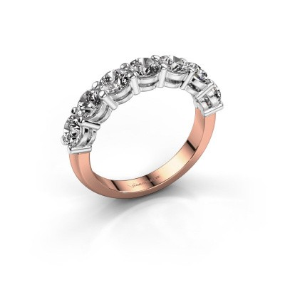 Foto van Verlovings ring Michelle 7 585 rosé goud diamant 2.100 crt