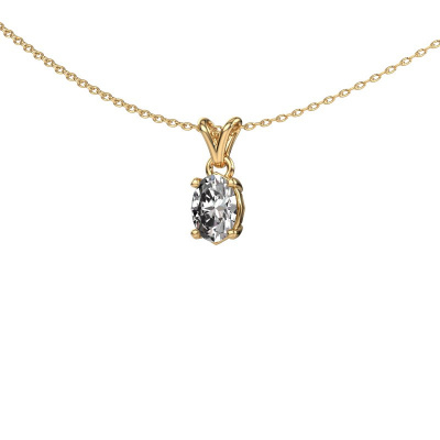 Foto van Ketting Lucy 1 375 goud lab-grown diamant 0.70 crt