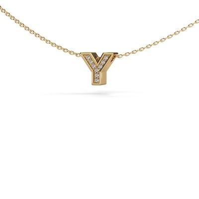 Foto van Letter hanger Initial 140 585 goud