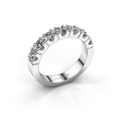 Photo de Bague de fiançailles Dana 7 585 or blanc diamant 1.40 crt