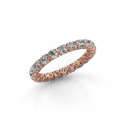 Picture of Ring Vivienne 2.7 375 rose gold lab-grown diamond 1.68 crt