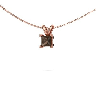 Picture of Pendant Ariane 375 rose gold smokey quartz 5 mm