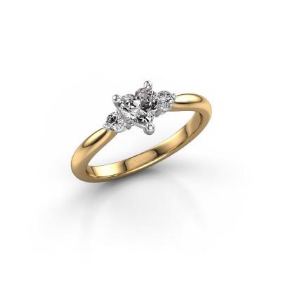Foto van Verlovingsring Lieselot HRT 585 goud lab-grown diamant 0.61 crt