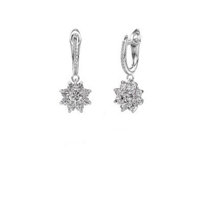 Oorhangers Camille 2 950 platina diamant 1.425 crt