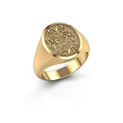 Picture of Family crest ring Charlie 585 gold