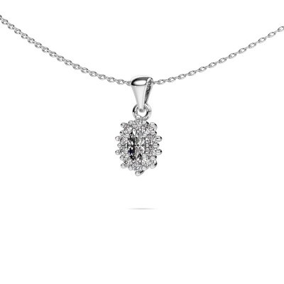 Picture of Necklace Leesa 585 white gold diamond 0.70 crt