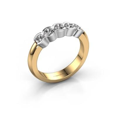 Foto van Verlovingsring Lotte 5 585 goud diamant 0.50 crt