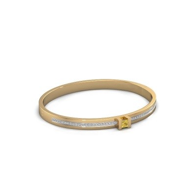Picture of Bracelet Desire 585 gold yellow sapphire 4 mm