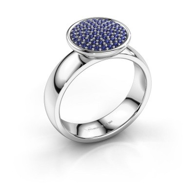 Picture of Ring Tilda 585 white gold sapphire 1 mm