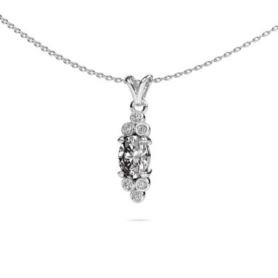 Picture of Pendant Lucy 2 950 platinum diamond 0.56 crt