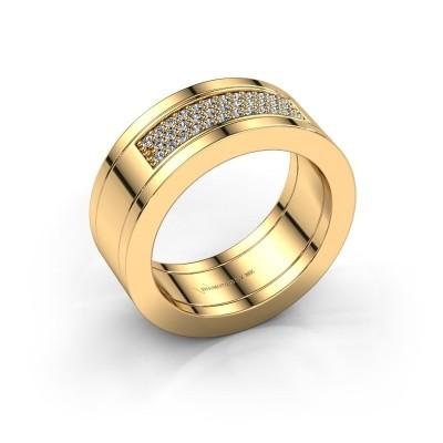 Picture of Ring Marita 1 585 gold zirconia 1.1 mm