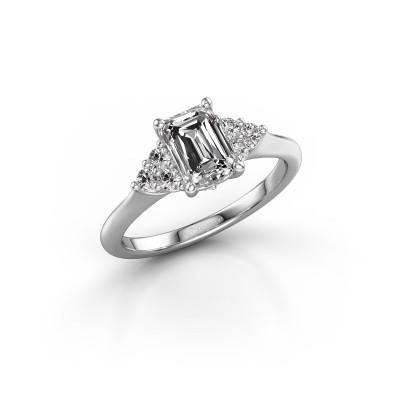 Foto van Verlovingsring Felipa EME 950 platina lab-grown diamant 1.343 crt