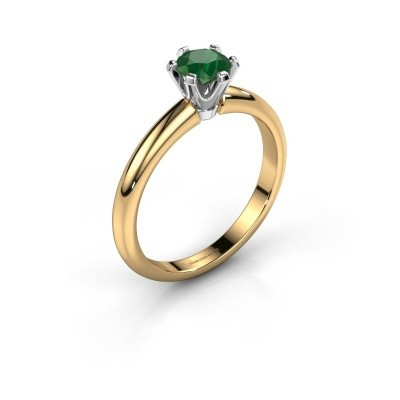 Picture of Engagement ring Tiffy 1 585 gold emerald 5 mm