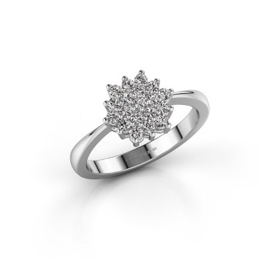 Foto van Verlovingsring Vickey 1 950 platina lab-grown diamant 0.02 crt