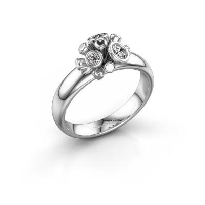 Ring Pameila 925 zilver lab-grown diamant 0.19 crt