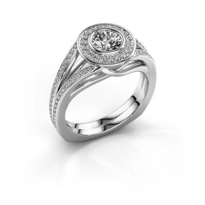 Foto van Ring Kellee 950 platina diamant 1.05 crt