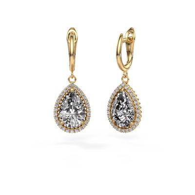 Bild von Ohrhänger Hana 1 585 Gold Diamant 6.42 crt