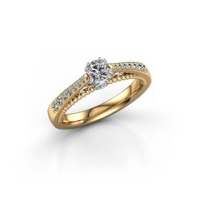 Bild von Verlobungsring Rozella 585 Gold Diamant 0.468 crt
