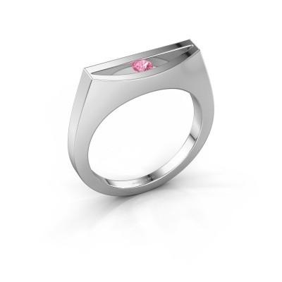 Ring Milou 925 Silber Pink Saphir 3 mm