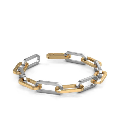 Armband CFE sqr 10.0 585 Gold ±10 mm
