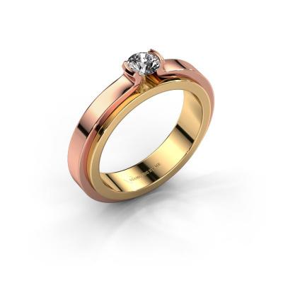 Verlobungsring Jacinda 585 Gold Diamant 0.30 crt