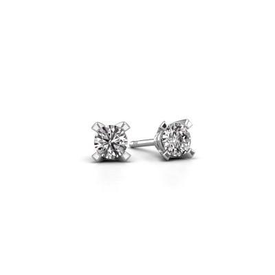 Platinum Diamond Earrings Design Your Own Diamondsbyme