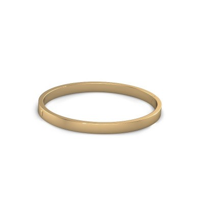 Picture of Bangle Edra 8mm 585 gold