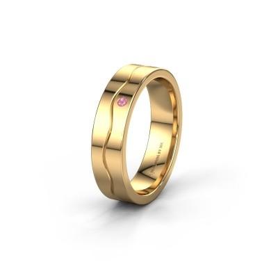 Ehering WH0701L15AP 585 Gold Pink Saphir ±5x1.7 mm