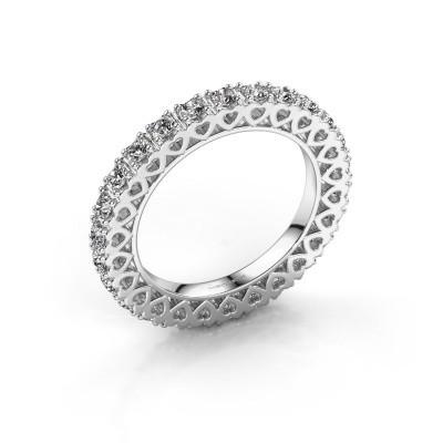 Aanschuifring Hailey 950 platina lab-grown diamant 1.17 crt