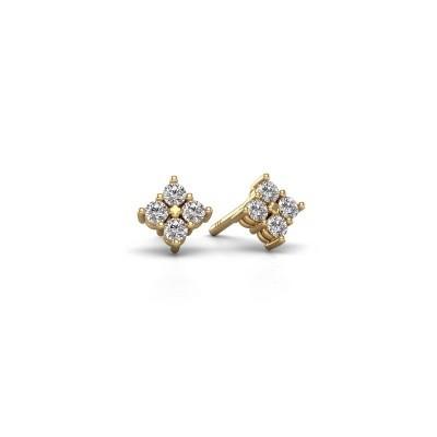 Bild von Ohrsteckers Maryetta 375 Gold Diamant 0.24 crt