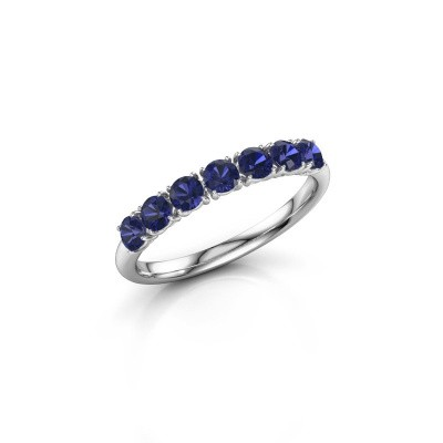 Picture of Ring Vivienne Half 585 white gold sapphire 2.9 mm