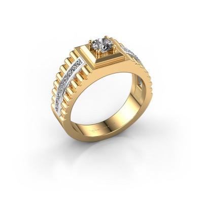 Men's ring Maikel 585 gold diamond 0.64 crt