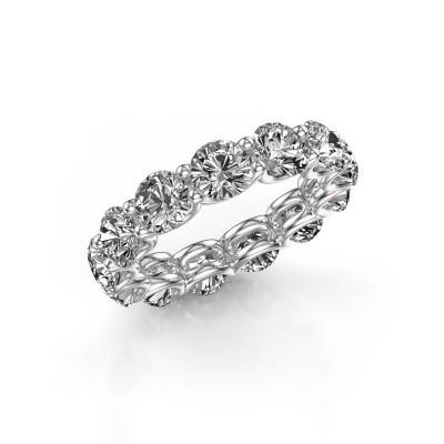 Foto van Ring Kirsten 5.0 585 witgoud diamant 6.50 crt