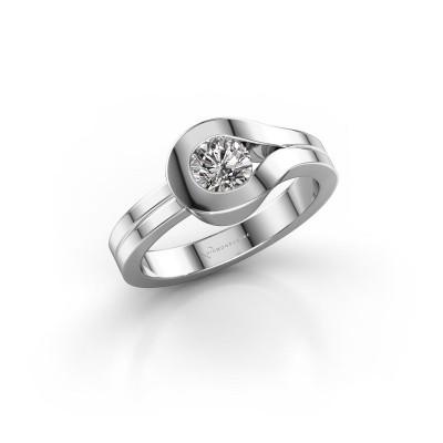 Ring Kiki 925 zilver diamant 0.10 crt