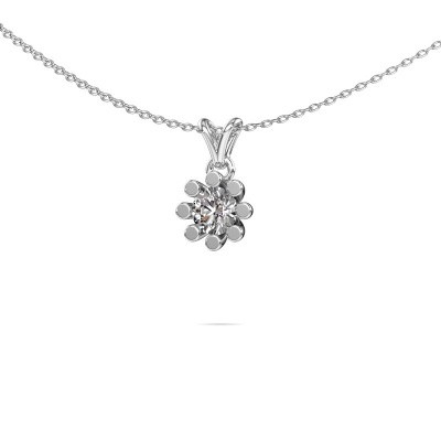 Foto van Hanger Carola 1 375 witgoud diamant 0.50 crt